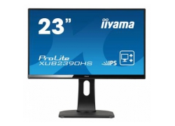 Монитор Iiyama 23″ ProLite XUB2390HS-B1 черный IPS LED 5ms 16:9 DVI HDMI M/M матовая HAS Pivot 250cd 178гр/178гр 1920x1080 D-Sub FHD 5.4кг
