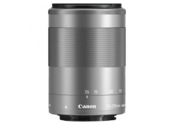 Объектив Canon EF-M IS STM (1122C005) 55-200мм f/4.5-6.3 серебристый