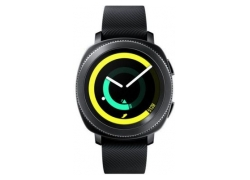 Смарт-часы Samsung Galaxy Gear Sport 1.2″ Super AMOLED черный (SM-R600NZKASER)